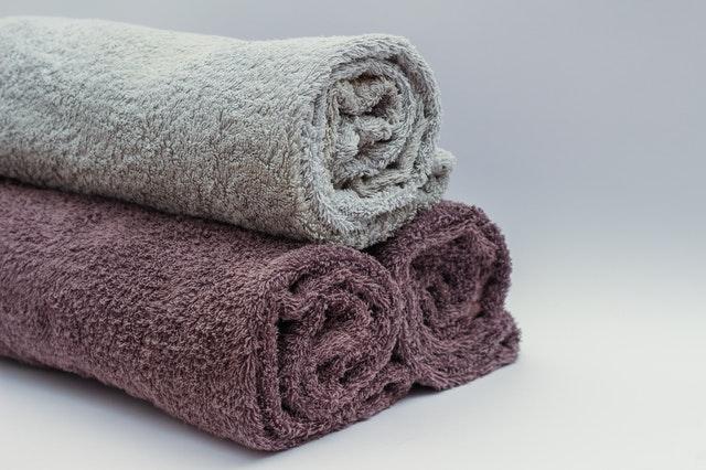 handdukar för badrummet